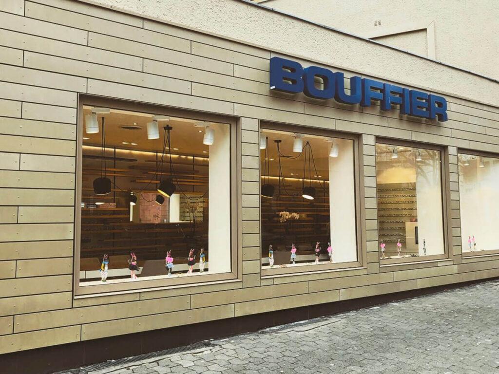 Wohn-und Geschäftshaus Mainz - Fassadenbekleidung Rieder-Ökoskin