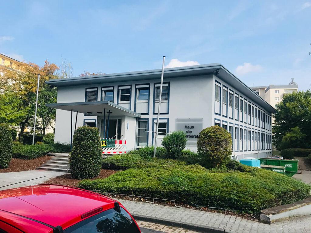 Haus der Steuerberater Mainz - Energetische Flachdachsanierung Bitumen